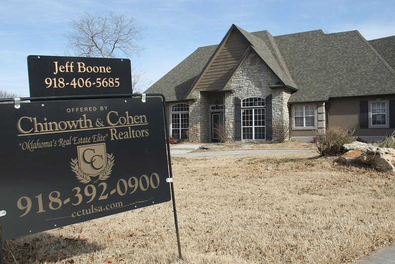 A home in south tulsa that has been listed for sale.<br /> <br /> FYI - the home has been on the market for about a year.