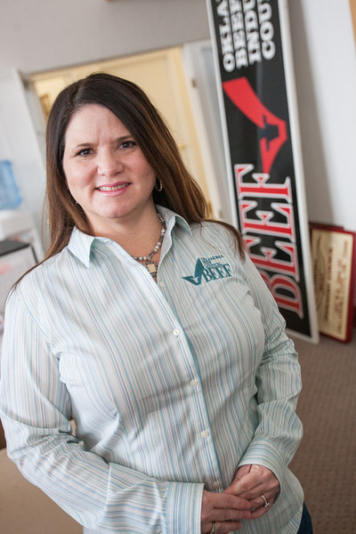 Heather Buckmaster is the Executive Director for the Oklahoma Beef Council.