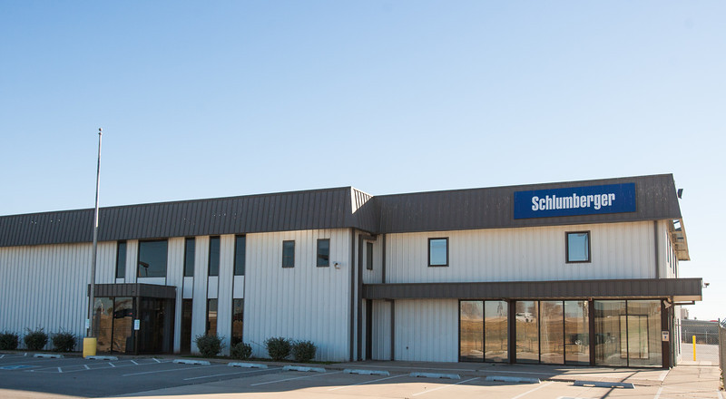 Schlumberger has purchased a new facility on I-40 Service Road just west of council.