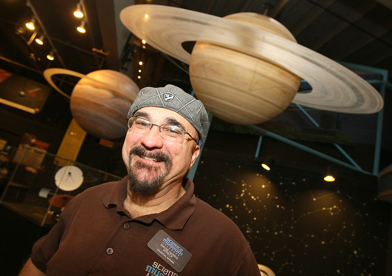 Wayne Harris Wyrick, astronomer at the Science Museum.  PHOTO BY MAIKE SABOLICH