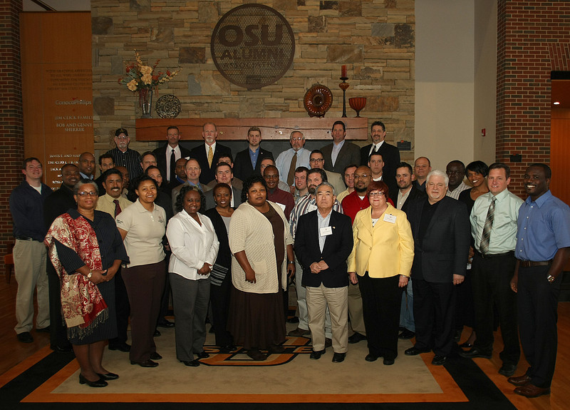 Participants in  the Oklahoma State University's Veterans Entrepreneurship Program.
