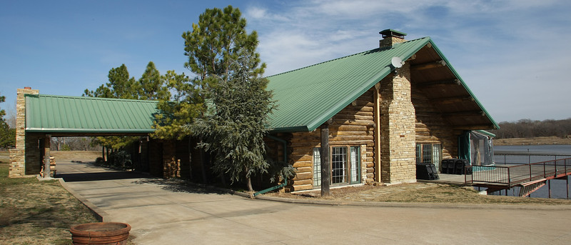 The Five Oaks Lodge in Jenks.