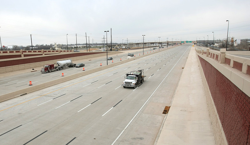 I-40 westbound will open this Sunday. PHOTO BY MAIKE SABOLICH