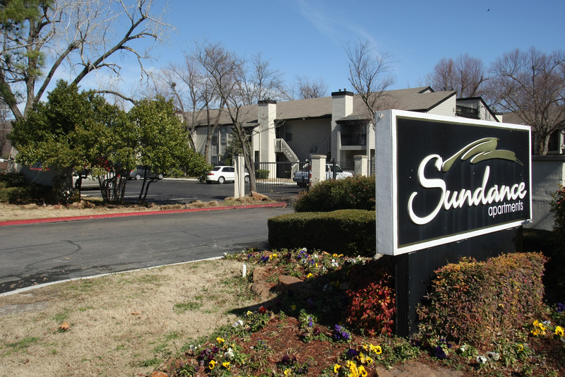 The Sundance Apartment complex may be raised to make room for a city park.