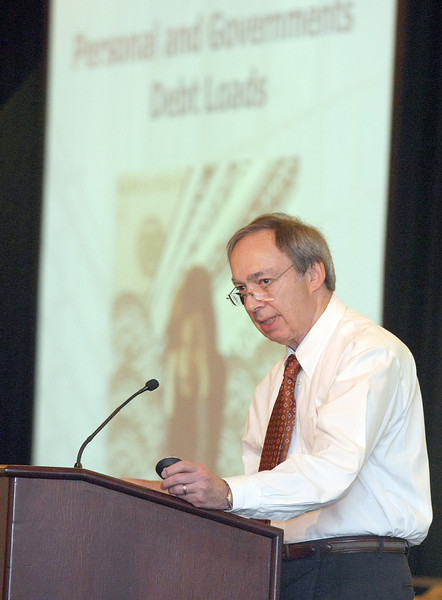 Stephen Blank with the Urban Land Institute. PHOTO BY MAIKE SABOLICH