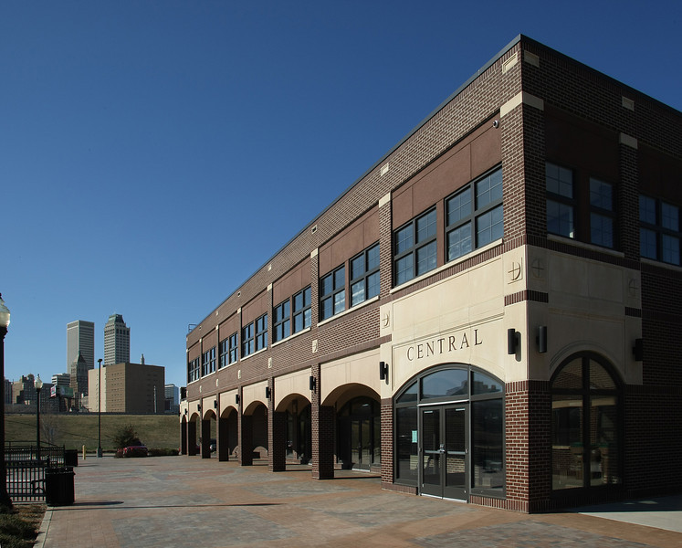 The  Central Center at Centennial Park near downtown Tulsa.