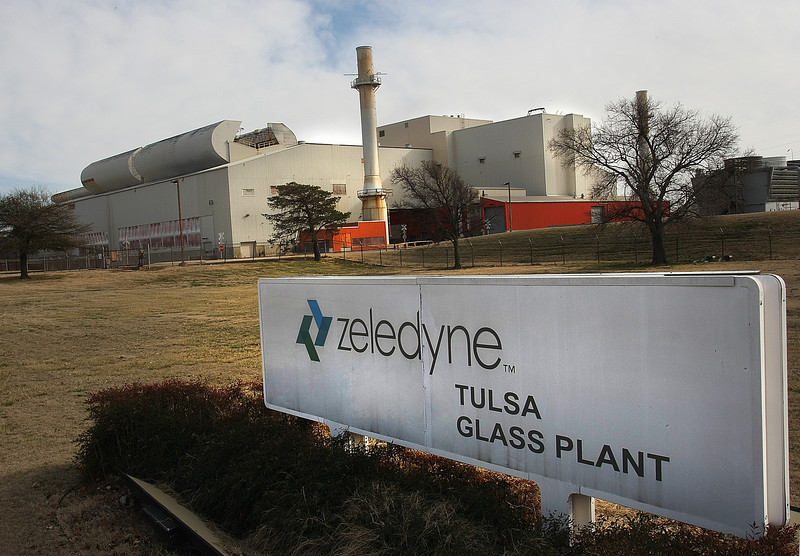 Tulsa's industrial vacancy rate is at a 12-year high. The closure of the 1.4 million square feet Zeledyne Glass Plant is a major factor contributing factor.