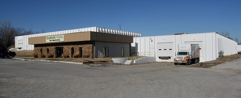 The Diamond Vogel paint plant at 5111 E. 36TH St in North Tulsa.