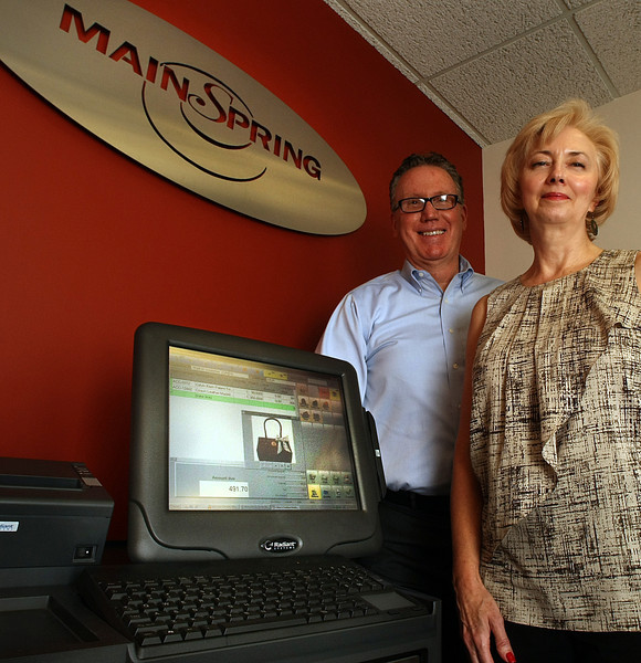 Paul Moore and Caroly Christman of Man Spring in Tulsa.
