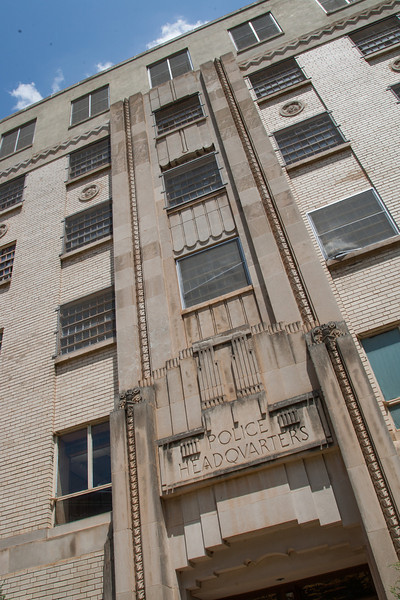 The old Oklahoma City jail is located at 200 N Shartel. While there are a few offices housed there, it's mostly vacent. City council has approved taking propsals for the future of the building.
