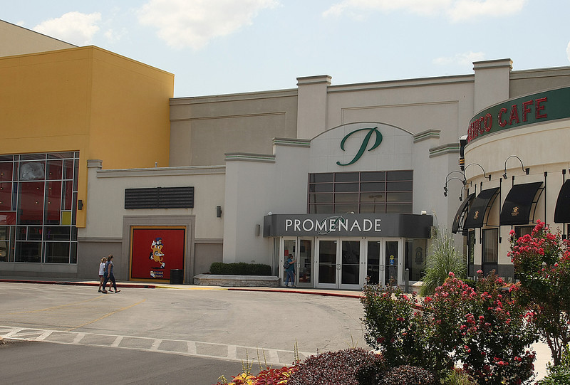 The Promenade Mall in Tulsa.