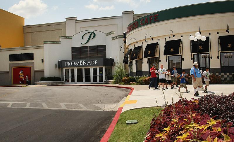 The Promenade Mall in Tulsa.