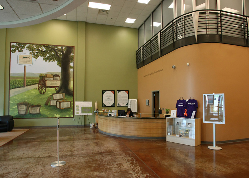 The Lobby of the Community Food Bank of Eastern Oklahoma.
