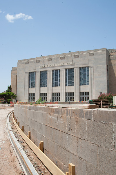As construction of the new Centennial Park continues, the Oklahoma City council has approved takeing propsals for the Civic Center Music Hall. The  Civic Center is in much need of maintance and upgrades.