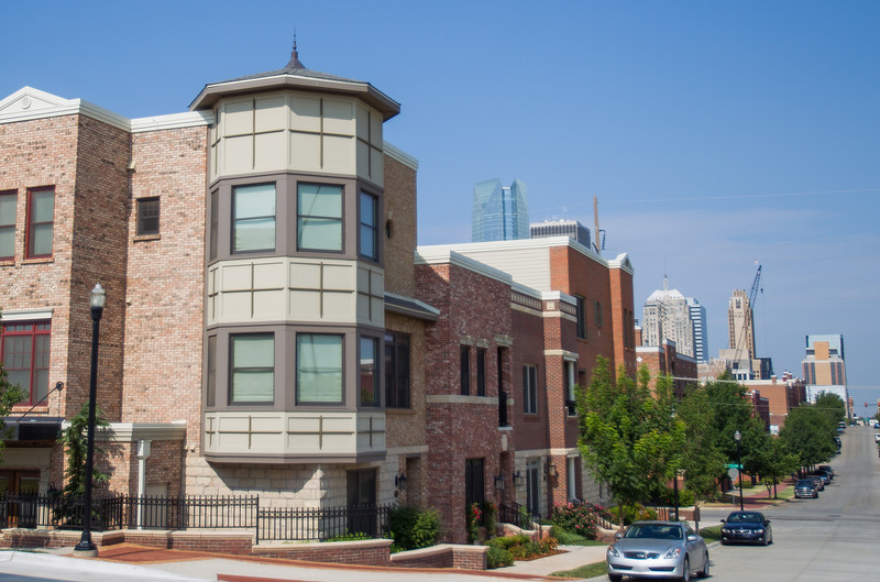 The Hill townhomes are located on Russel M Perry and NE 1st just north of Bricktown. Inaddition to the townhomes that are currently for sale more homes are planning to be built.