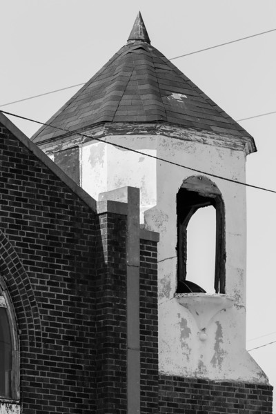 An historic church at the corner of California and Shartel has been abadon an is scheduled to be torn down.