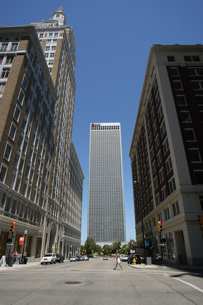 Tulsa's office market posted solid vacancy declines in the first half of 2012, even as rental rates rose.
