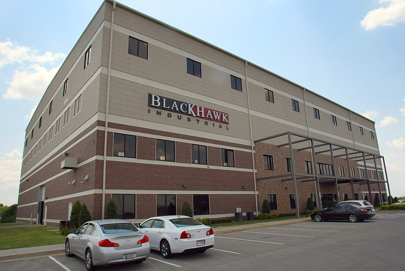The Black Hawk Industrial offices in Broken Arrow.