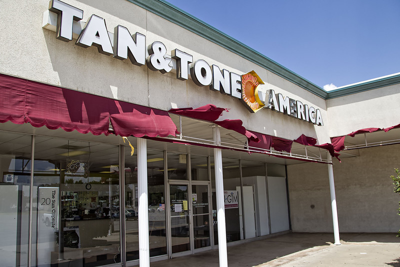 Tan & Tone America at NW 50th and Meridian.