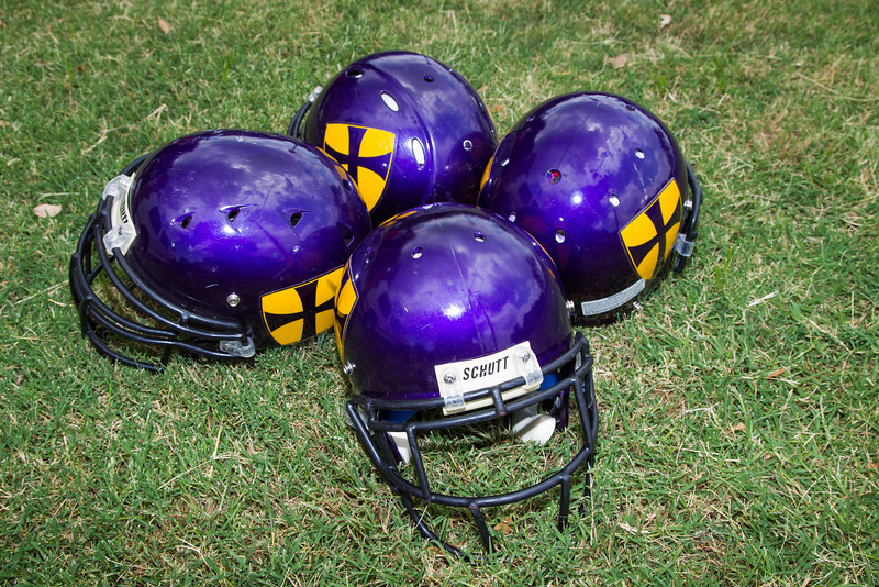 Football helmets from may have to be replaced earlier than expected with new regulations limiting their allowed lifespan. These helmets were provided by the Northwest Classen Highschool Football team.