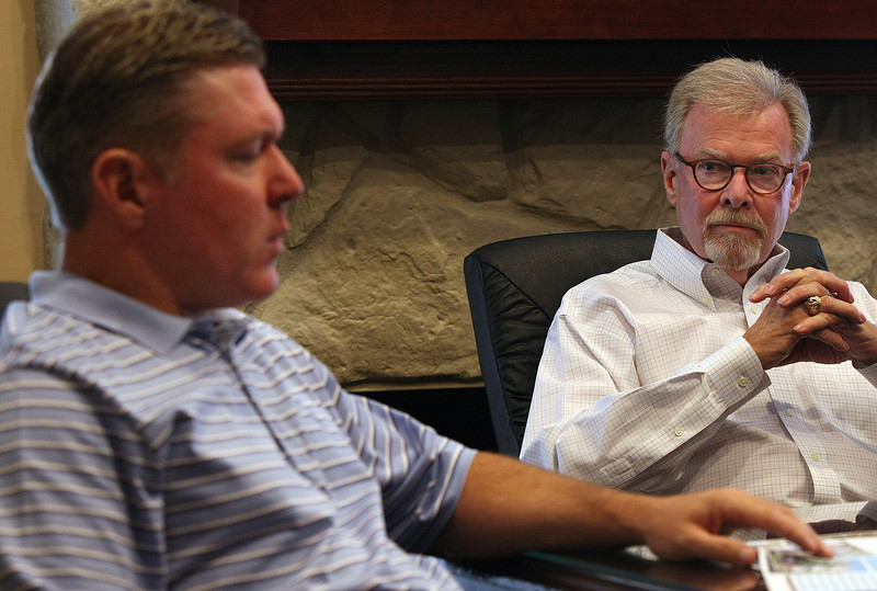Greg Wright and Gary Krisman of Capital Assets in Tulsa.
