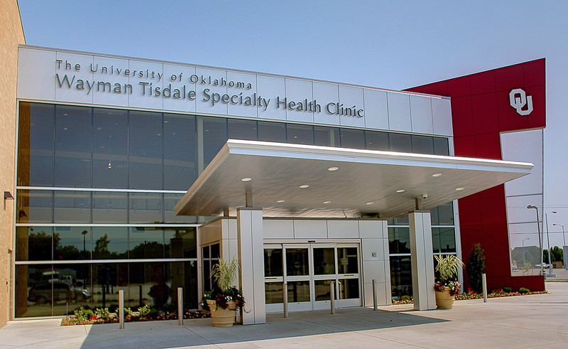 The Wayman Tisdale Specialty Health Clinic in North Tulsa.