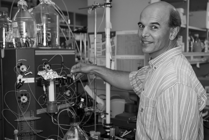 Paul DeAngelis, Ph.D. is the lead scientist with Caisson Biotech and a proffesor of biochemistry at OU.