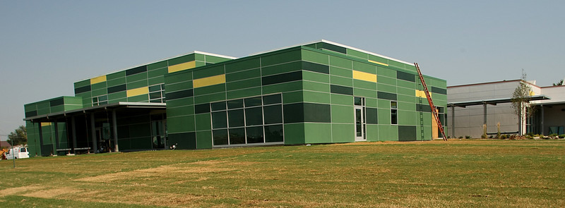 The North Regional Health and Wellness Center in North Tulsa .  The center is scheduled to open in August.