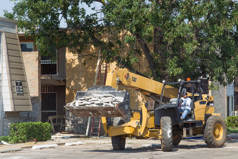 With new owners Cypress Ridge apartments on Hefner Rd are recieving a major renovation after falling into disrepair.