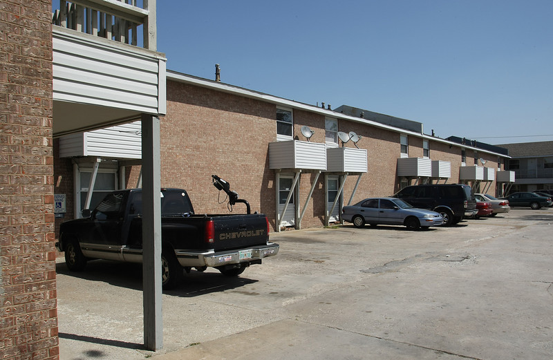 The Garden Terrace Apartments in northeast Tulsa recently sold for  $1.1 million.
