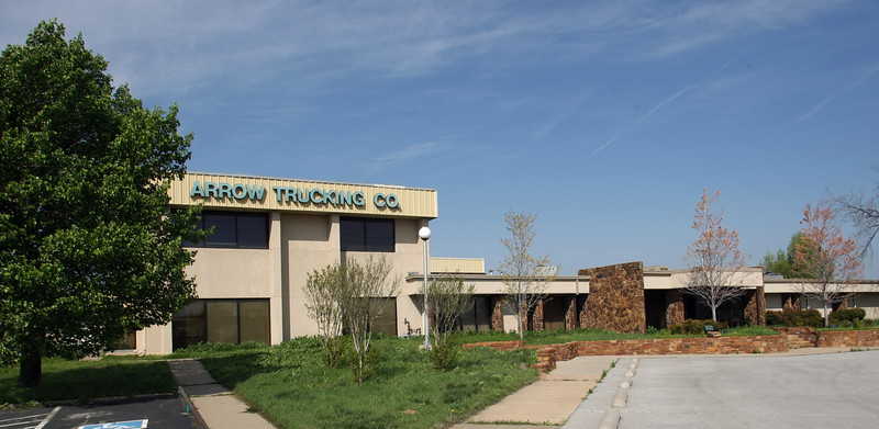 The old Arrow Trucking headquarters at  4230 S. Elwood Ave.