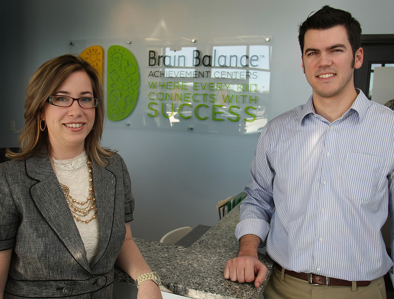 Kristen and Isaac Johnson, Owners of Tulsa's Brain Balance Achievement Center.