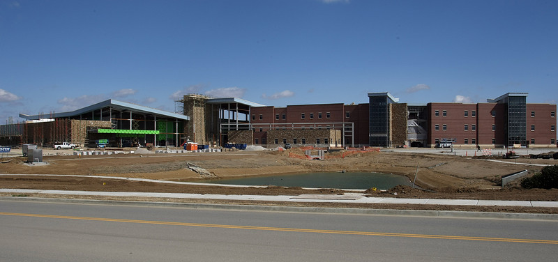 The Owasso Tusa Tech campus under construction.