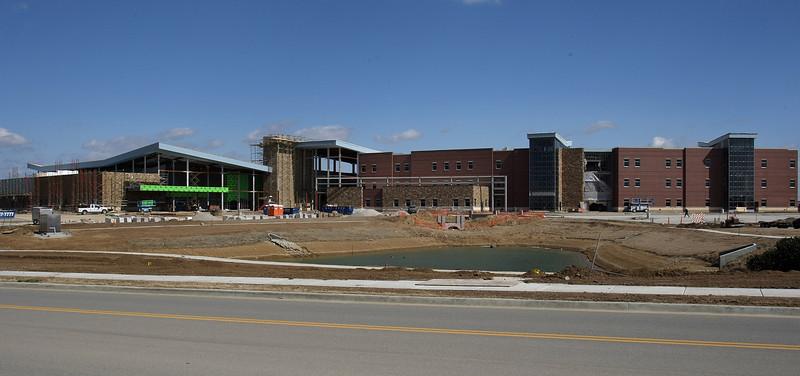 The Owasso Tusa Tech campus under construction.