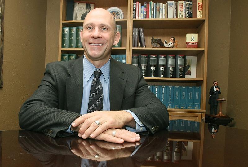 Attorney Ed White. PHOTO BY MAIKE SABOLICH