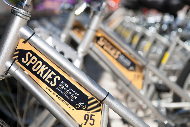 Starting May 18th, the Spokies program will allow users to borrow a bike for traversing downtown Oklahoma City.