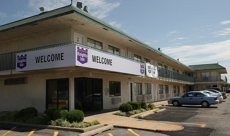 the Knights motel at 1011 S. Garnett Road in Tulsa recently sold for $1.1 Million.