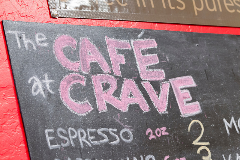Located in Leadership Square, Crave is a participent in the Buy Local program.