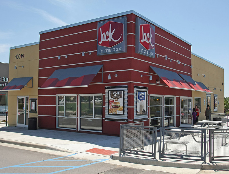 The Jack in the Box restaurant in South Tulsa.