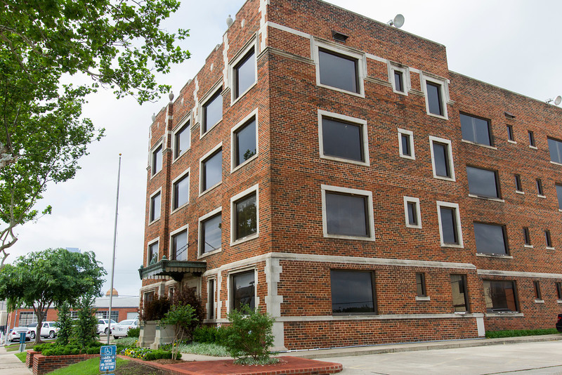 The Mayfair building, located at NW 13th and Broaway Place, is being looked at for redevelopment into a apartment bulding.