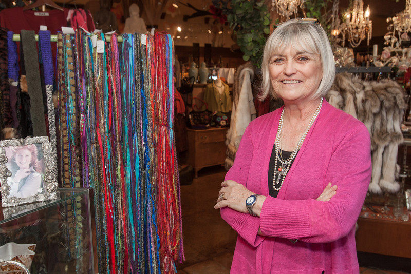 Beverly Willey works at Kathy's on Paseo. A localy owned clothing store located at 2909 N Paseo.