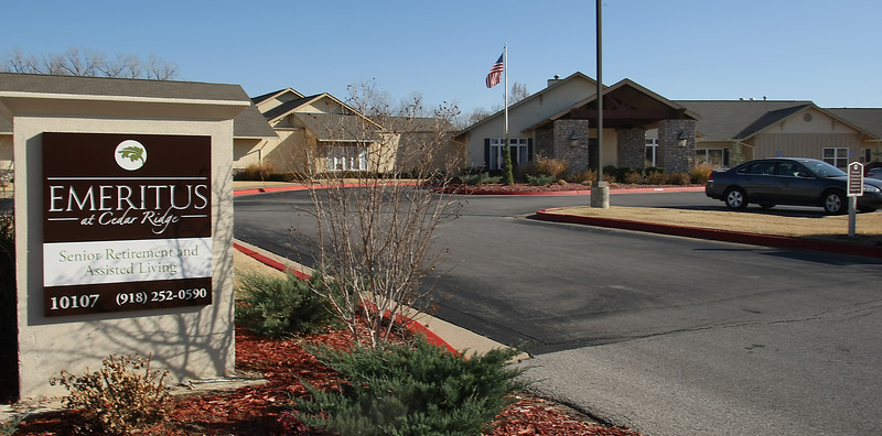 Broken Arrow's Emeritus at Cedar Ridge senior living complex was purchased by the California real estate investment trust HCP for $21 million as part of a $1.7 billion multistate transaction.