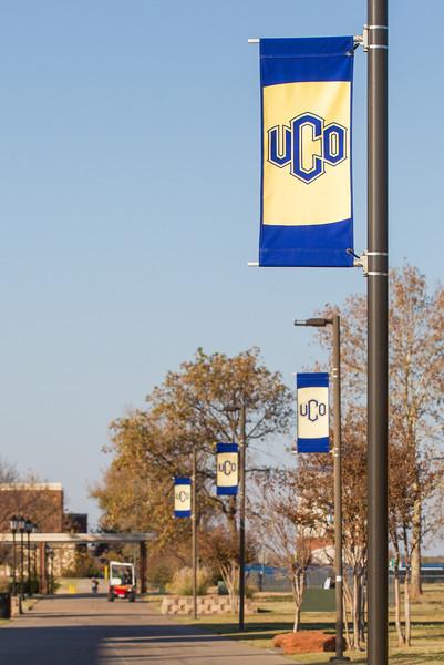 UCO campus.