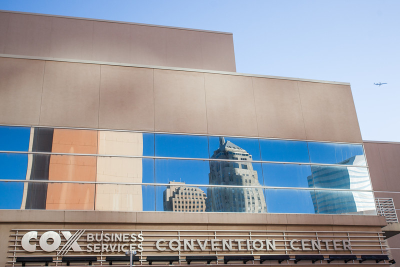 The Cox Convention Center
