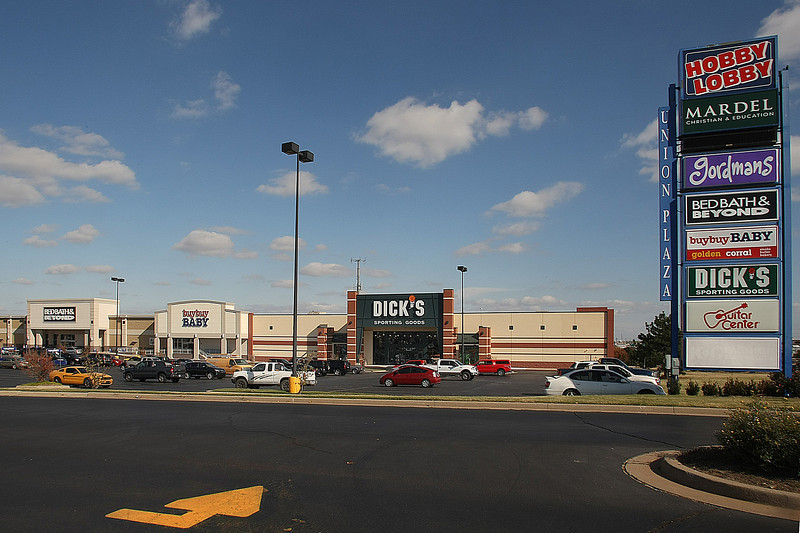 ** copy desk get sales info from Kirby***<br /> <br /> Union Plaza Shopping C enter at 71st & Mingo in south Tulsa.