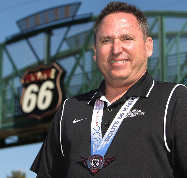 Chris Lieberman, Executive Director of the Williams Route 66 Marathon.