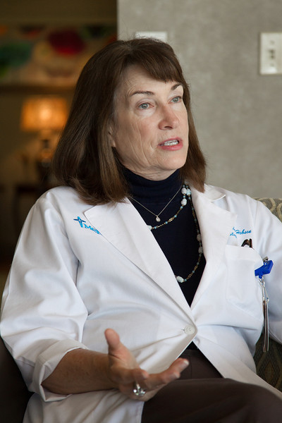 Dr. Gail Hudson of Mery Hospital