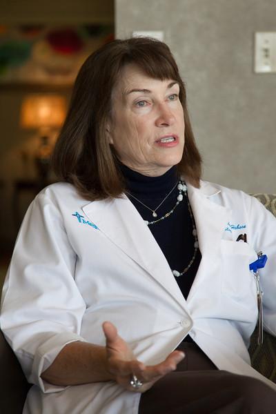 Dr. Gail Hudson of Mery Hospital