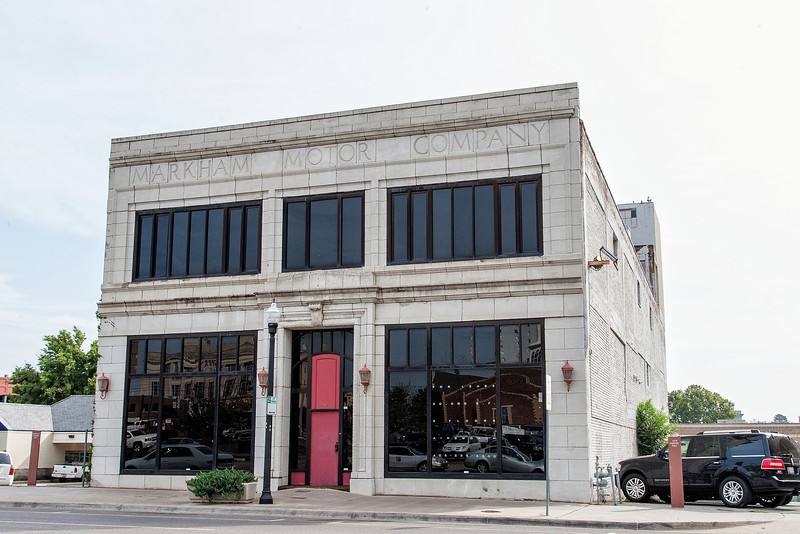 The Markham Motor Company building located at 512 N Broadway.
