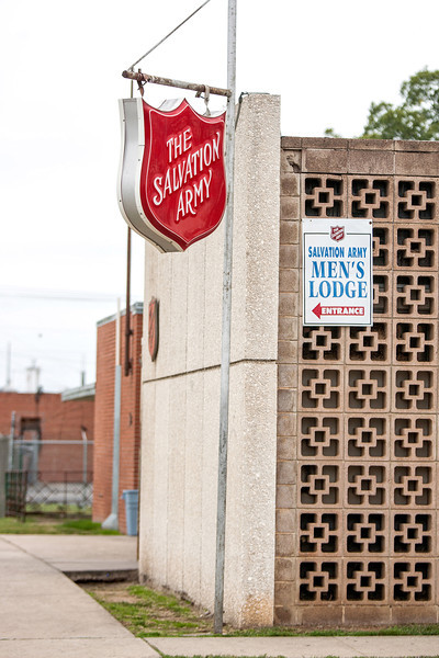 Salvation Army offices just south of downtown Oklahoma City.